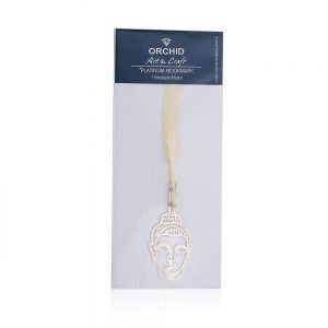 Orchid Buddha Feather Bookmark Gift Set