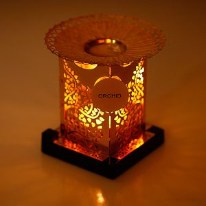 Orchid Tea light Candles Holder with Kapoor Dani