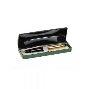 Orchid Royal Half Metal Pen With Motif Box Golden