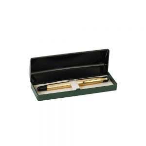 Orchid Tulip Ball Pen Motif Box Golden